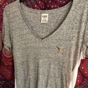 Victoria secret PINK sparkle shirt